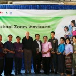 The opening of the first Safe School Zone in Thailand