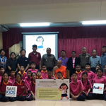 International Walk to School Day: Walk to School Challenge at Wat Thongsalangam School